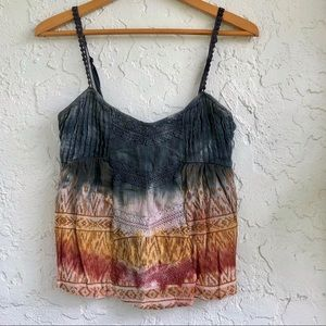 Billabong boho tank top size small